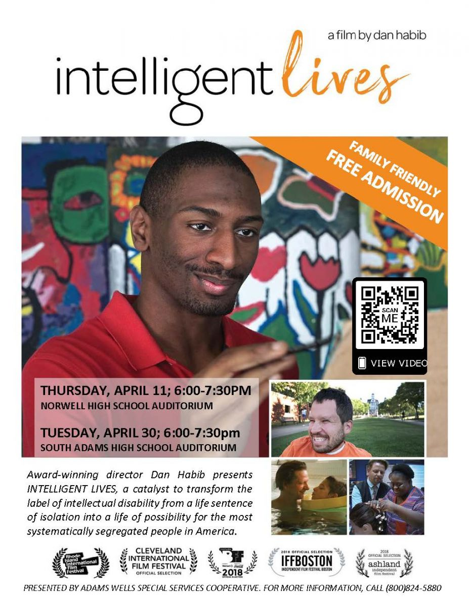 Intelligent Lives movie flyer